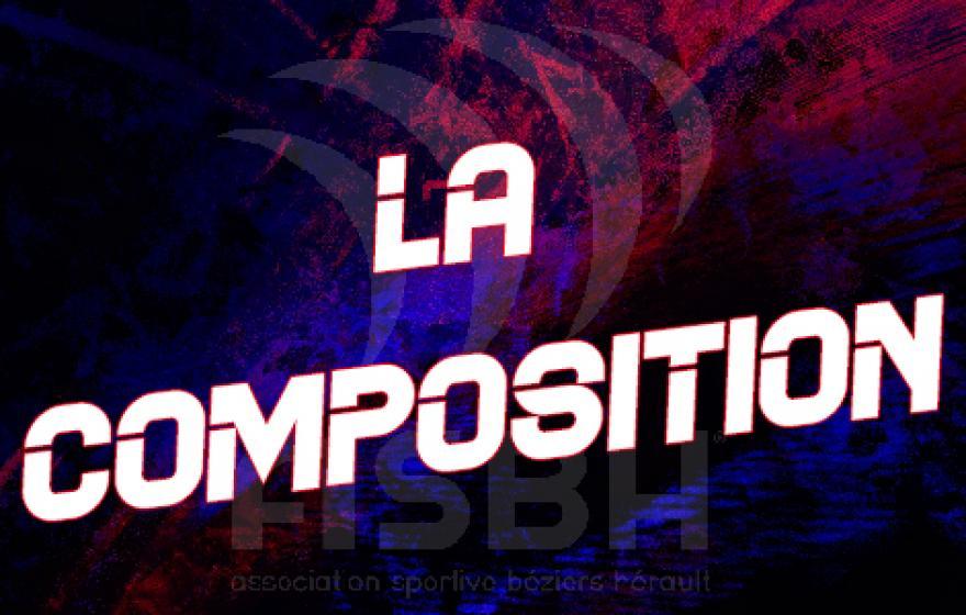 ASBH - Nevers : la composition