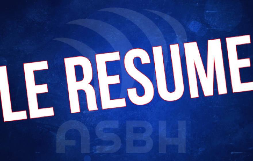 Bayonne - ASBH : Le résumé