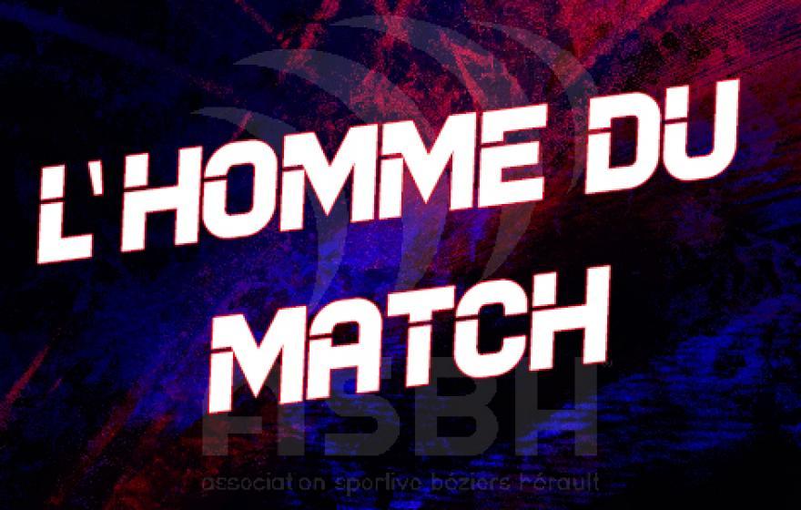 ASBH - Nevers : l'homme du match