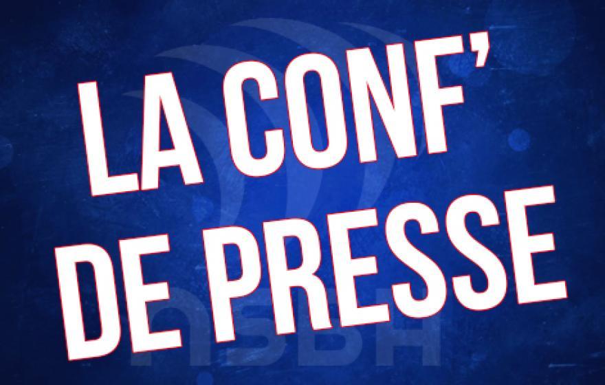 Bayonne - ASBH : La conférence de presse