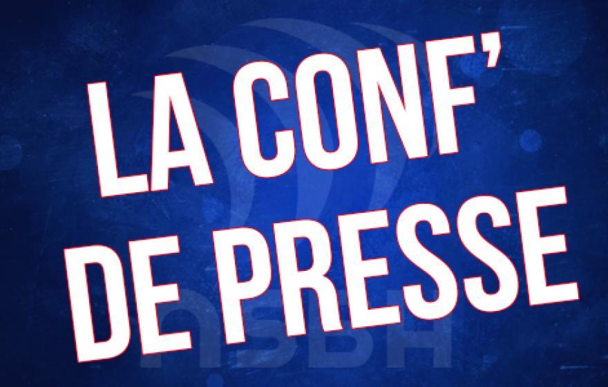 Grenoble - ASBH : La conférence de presse