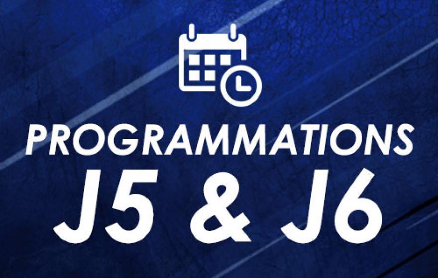 Programmations | J5 et J6
