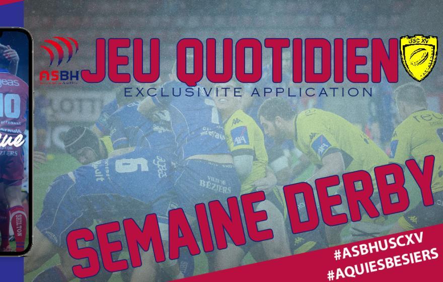 Semaine derby : Béziers - Carcassonne