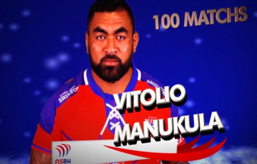 Vidéo hommage | 100e match de Vitolio Manukula
