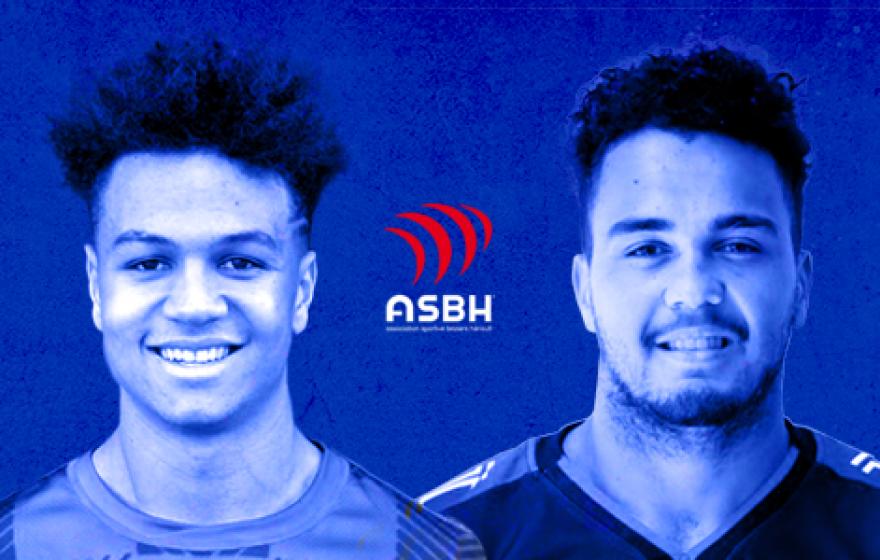 Zénon et Van Bost s'engagent avec l'ASBH